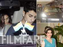 Karisma Kapoor, Soha Ali Khan, Ibrahim Khan and others join Saif Ali Khan on his 47th birthday celebrations