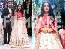 Shraddha Kapoor looks ethereal and elegant at the ongoing Lakme Fashion Week