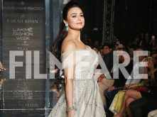 Preity Zinta's charisma at the ongoing Lakme Fashion Week is unbeatable!