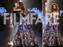 Esha Gupta appears sensuous and striking at the ongoing Lakme Fashion Week