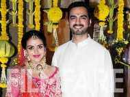 Esha Deol looks gorgeous in pink at her baby shower