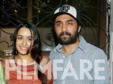 Shraddha Kapoor bids adieu to Ganpati Bappa with Siddhanth Kapoor and family