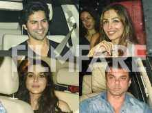 Karan Johar, Preity Zinta, Malaika Arora, Manish Malhotra and more gather to celebrate Neha Dhupia's birthday