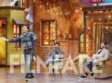 Sunny Deol, Bobby Deol and Shreyas Talpade promote Poster Boys at a TV show