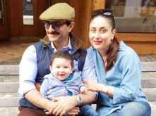 These family pictures of Saif Ali Khan and Kareena Kapoor Khan with son Taimur is an adorable one