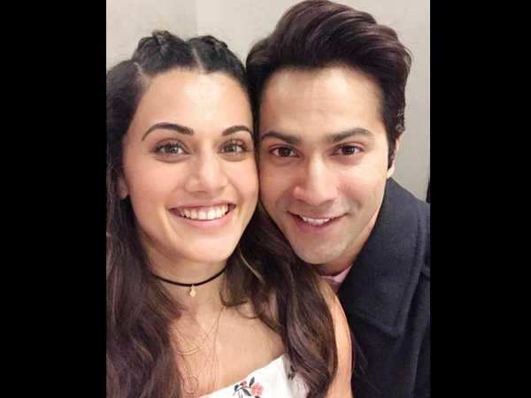 taapsee pannu finds varun dhawan easygoing and chilled