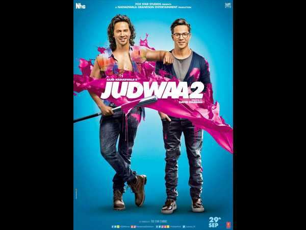 Judwaa 2 New Poster: Varun Dhawan rocks as Raja and Prem in this new poster