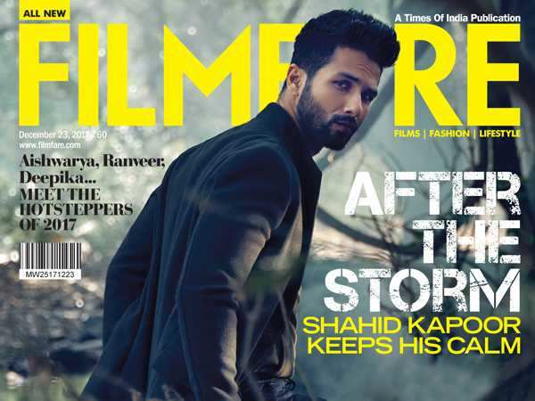 Shahid Kapoor is dark and delicious on the latest cover of Filmfare