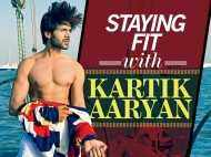 Staying fit with Kartik Aaryan