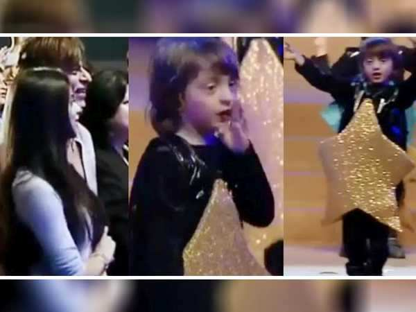 So cute! AbRam Khan dancing to daddy Shah Rukh Khan's song will make your hearts happy