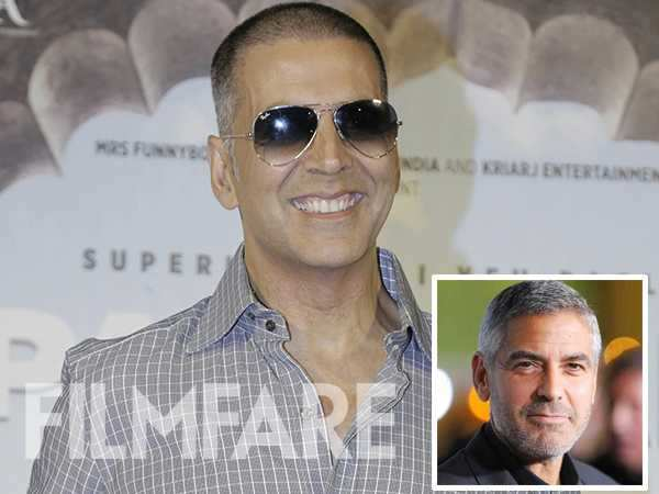 Akshay Kumar reacts on being called George Clooney of India