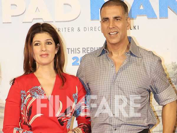 Twinkle Khanna reveals Akshay Kumar wasn't the first choice for Padman