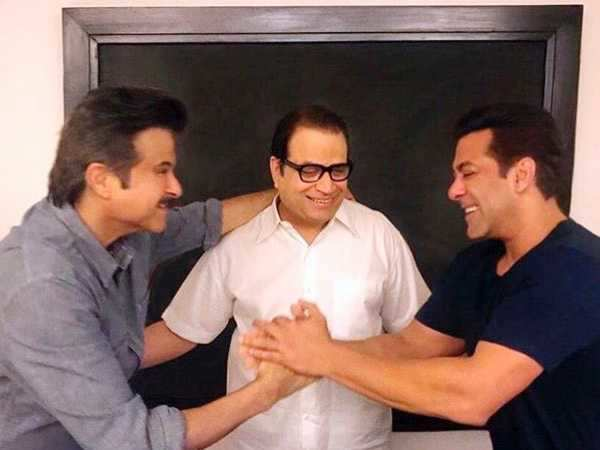 Salman Khan welcomes Anil Kapoor as his new co-star in Race 3