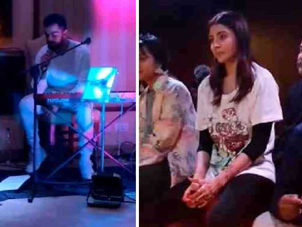 Wow! Virat Kohli sings Mere Mehboob for Anushka Sharma and her reaction is epic!