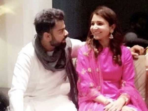 Newlyweds Virat Kohli and Anushka Sharma look madly in love in this new picture going viral