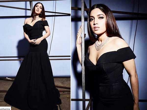 Bhumi Pednekar is a beauty in black!