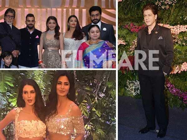 50 best pictures from Anushka Sharma and Virat Kohli's Mumbai reception