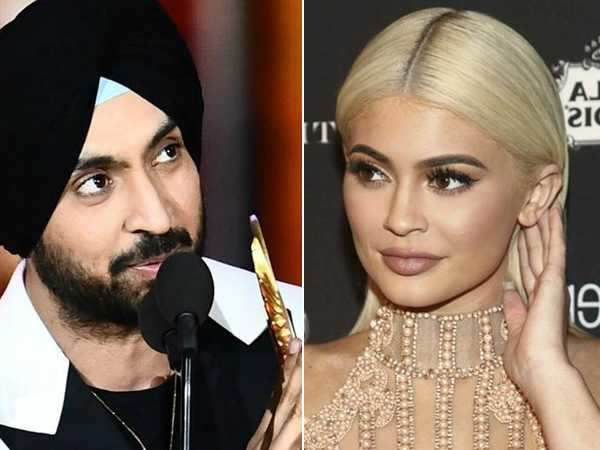 Diljit Dosanjh to dedicate a song to reality TV star Kylie Jenner