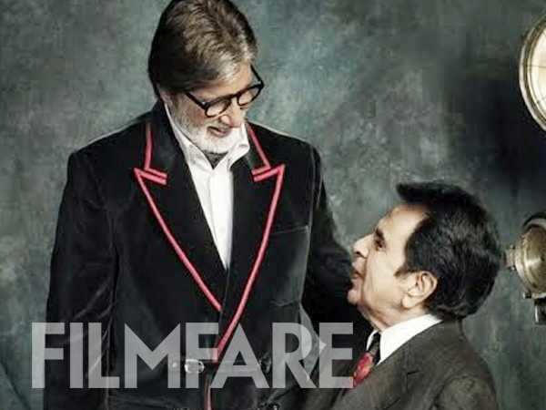 """Dilip Kumar is my idol"" said Amitabh Bachchan in this 2013 interview"