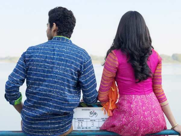 Check out this picture of Janhvi Kapoor and Ishaan Khatter from the first day shoot of Dhadak