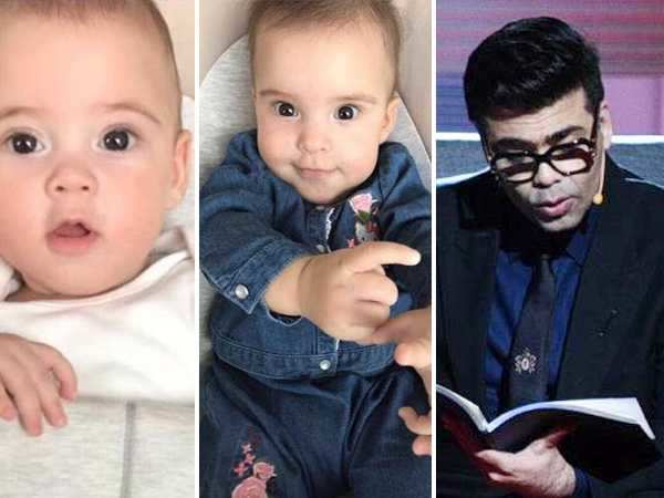 Karan Johars reads out a touching letter to his twins Yash and Roohi on Shah Rukh Khan's show