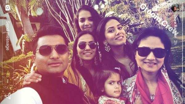 Photo Alert! Mira Kapoor enjoys the winter chill with her girlfriends at a Delhi wedding