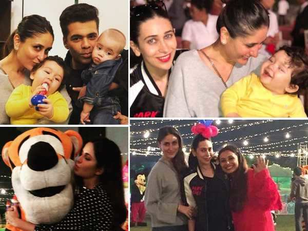 All the inside pictures from Adira Chopra's first birthday party ft. Taimur, Yash and Roohi