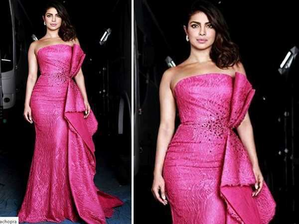 Lady in Pink! Priyanka Chopra stuns all on the red carpet