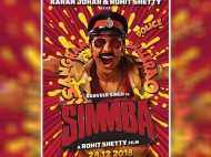 Poster of Ranveer Singh starrer Simmba is all things fun and massy