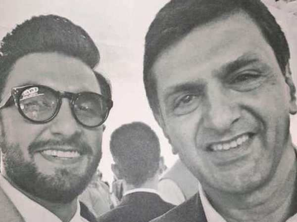 Ranveer Singh shares a special selfie with Deepika Padukone's father, Prakash Padukone