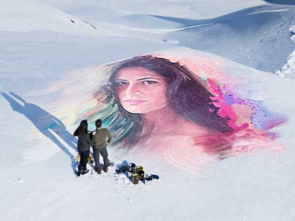You cannot miss this portrait of Katrina Kaif made by Salman Khan