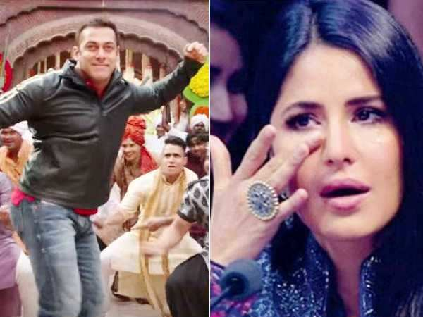 Awwdorable! Salman Khan proves that he can't watch Katrina Kaif in tears