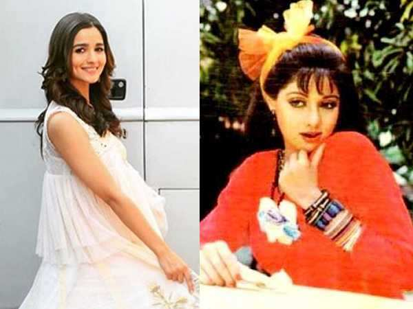 Alia Bhatt might step into Sridevi's shoes for the Chaalbaaz remake