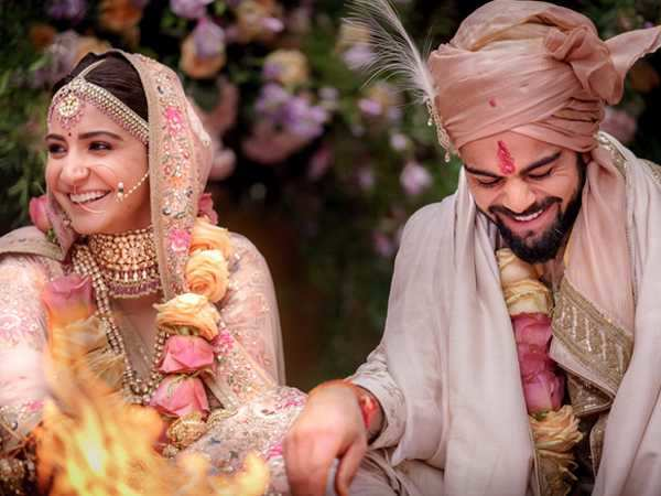 First pictures from Anushka Sharma and Virat Kohli's wedding
