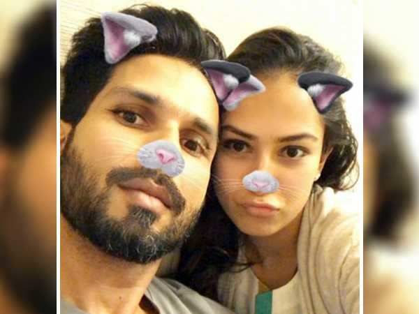 Shahid Kapoor and Mira Rajput Kapoor meow away…