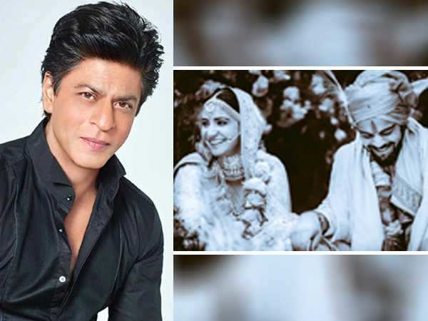 Shah Rukh Khan's wedding wish for Virushka: Ab yeh hui na real Rab Ne Bana Di Jodi