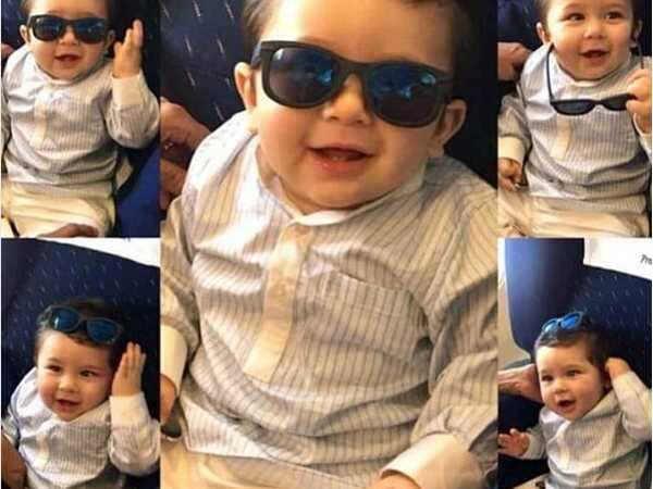 Taimur Ali Khan's expressions are a delight to watch, have a look!
