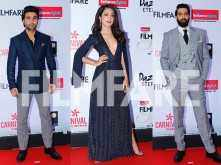 Armaan Rahlan, Aadar Jain and Anya Singh snapped at Reliance Digital And Filmfare Glamour And Style