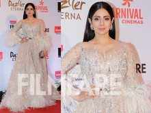 Eternal goddess Sridevi at the Reliance Digital And Filmfare Glamour And Style Awards