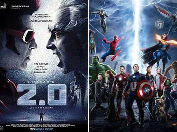 Rajinikanth and Akshay Kumar's 2.0 and Avengers: Infinity War to release on the same date!