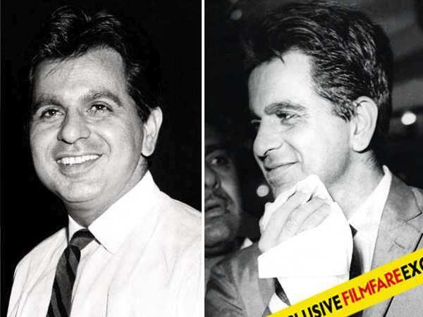 Rare and candid pictures of Dilip Kumar