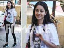 2017's Le Bal debutant, Ananya Panday spotted acing comfort fashion in Mumbai