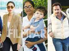 Taimur Ali Khan is off to Pataudi to ring in his birthday with Kareena Kapoor Khan & Saif Ali Khan