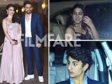 Soha Ali Khan, Kunal Kemmu, Ibrahim Khan & Sara Ali Khan at Kareena Kapoor Khan's Christmas bash!