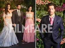 Katrina Kaif and Varun Dhawan sizzle at Virushka's reception