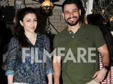 Photos! Soha Ali Khan and Kunal Kemmu head out for a post-Christmas dinner date