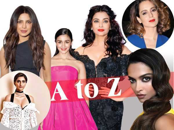 A to Z of the hottest trends worn by Bollywood stars