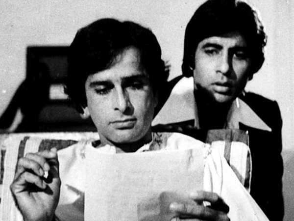 Amitabh Bachchan pays tribute to Shashi Kapoor in an emotional letter