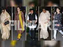 Bollywood gathers for Shashi Kapoor's prayer meet at Prithvi Theatre