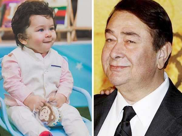Randhir Kapoor gets emotional on grandson Taimur Ali Khan's first birthday